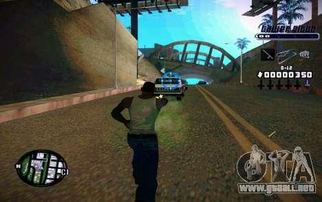 C-HUD Tawer Gitto para GTA San Andreas segunda pantalla