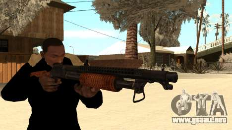 M1897 from Battle Territory Battery para GTA San Andreas tercera pantalla