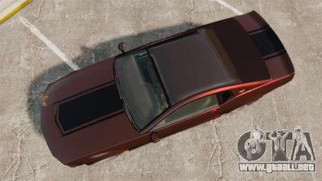 GTA V Vapid Dominator wheels v1 para GTA 4 visión correcta