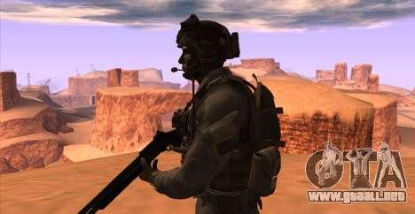 Teniente David Hesh Walker из De Call of Duty: G para GTA San Andreas sexta pantalla