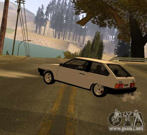 ВАЗ 2108 GVR Versión 2.0 para GTA San Andreas left
