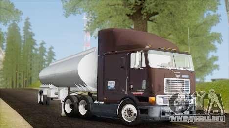 Navistar International 9800 v2 para GTA San Andreas left