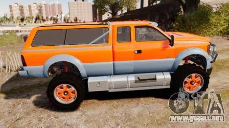 GTA V Vapid Sandking XL wheels v2 para GTA 4 left