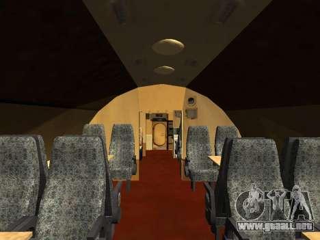 Tu-Un para GTA San Andreas interior