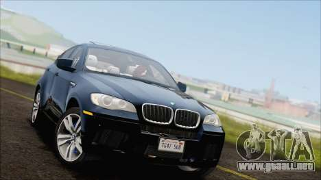 BMW X6M E71 2013 300M Wheels para GTA San Andreas