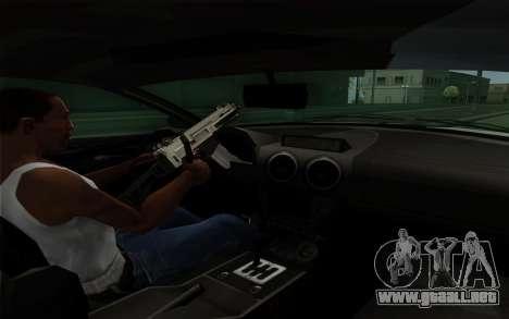 Rapid GT para vista inferior GTA San Andreas