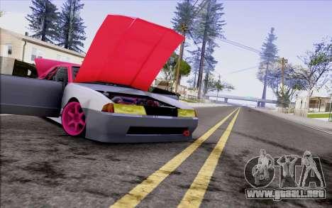 Elegy New Drift Kor4 para GTA San Andreas vista hacia atrás