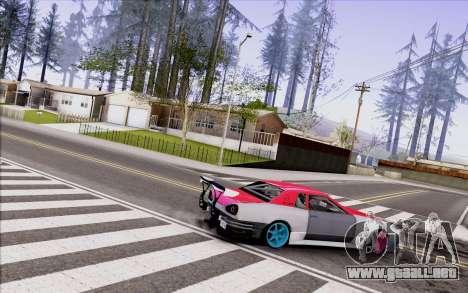 Elegy New Drift Kor4 para GTA San Andreas vista posterior izquierda