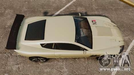 GTA V Ocelot F620 Racer para GTA 4 visión correcta