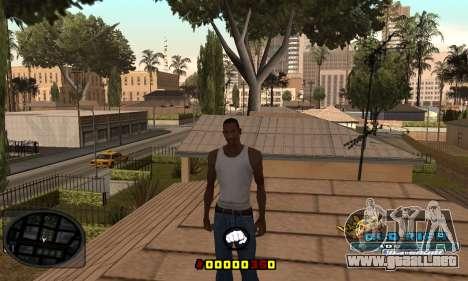 C-HUD Old-Rifa para GTA San Andreas