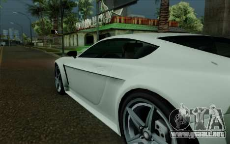 Rapid GT para la vista superior GTA San Andreas