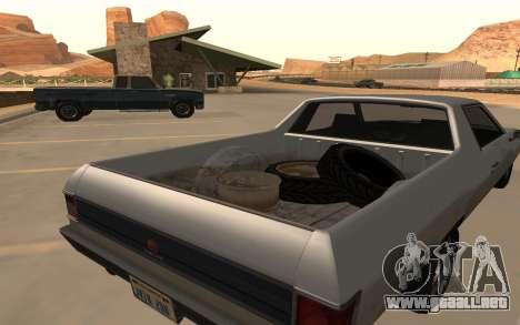 Picador GTA 5 para GTA San Andreas vista posterior izquierda