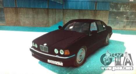 BMW 735iL E32 ver 2 para GTA 4