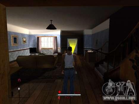 C-HUD by SaMoGoN para GTA San Andreas tercera pantalla