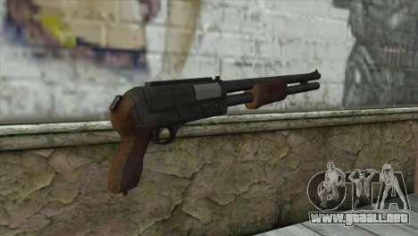 M3 Sawn-Off Shotgun para GTA San Andreas segunda pantalla