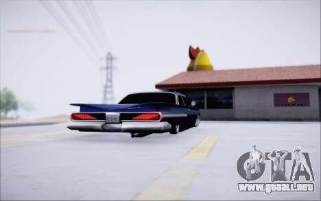 Voodoo Low Car v.1 para la visión correcta GTA San Andreas
