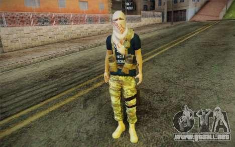 Policia Comunitaria para GTA San Andreas segunda pantalla