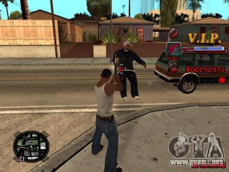 C-HUD VIP para GTA San Andreas segunda pantalla