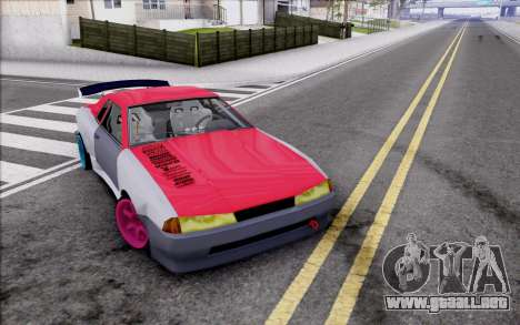 Elegy New Drift Kor4 para vista inferior GTA San Andreas