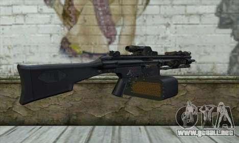 HK 23E para GTA San Andreas segunda pantalla
