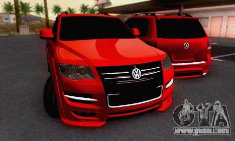 Volkswagen Touareg Mansory para GTA San Andreas