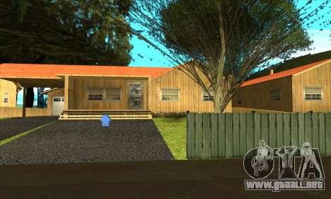 Aldea nueva Gillemyr v1.0 para GTA San Andreas quinta pantalla
