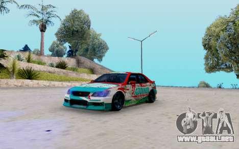 Toyota Altezza Addinol para GTA San Andreas