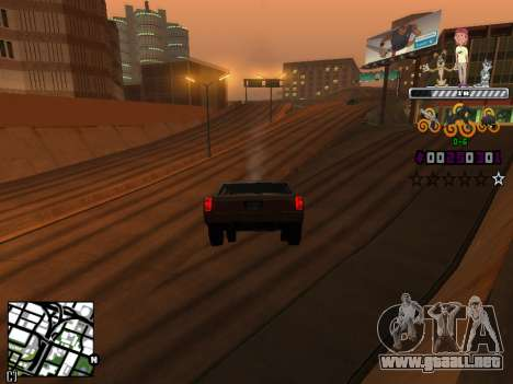 C-HUD Prostokvashino para GTA San Andreas tercera pantalla