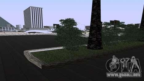 Nuevas texturas de la Estación de tren en Las Ve para GTA San Andreas tercera pantalla