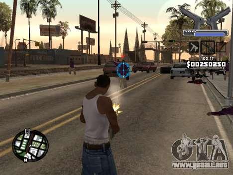 C-HUD Deagle para GTA San Andreas segunda pantalla
