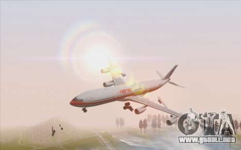 Airbus A340-300 China Eastern para GTA San Andreas