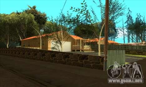 Aldea nueva Gillemyr v1.0 para GTA San Andreas segunda pantalla