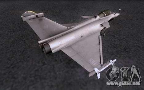 Dassault Rafale M para la visión correcta GTA San Andreas