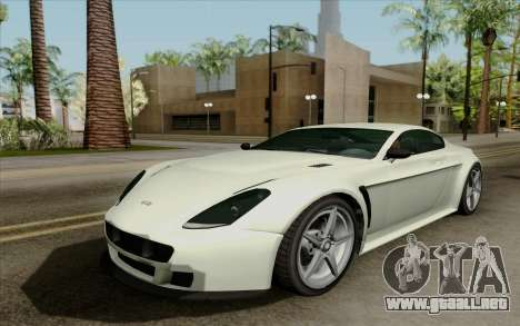 Rapid GT para GTA San Andreas left