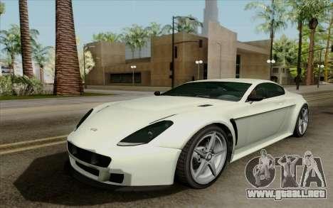 Rapid GT para GTA San Andreas left