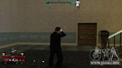 Yakudza HUD para GTA San Andreas segunda pantalla