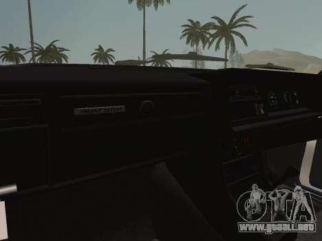 VAZ-2107 Riva para visión interna GTA San Andreas