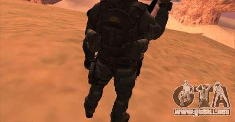 Teniente David Hesh Walker из De Call of Duty: G para GTA San Andreas séptima pantalla