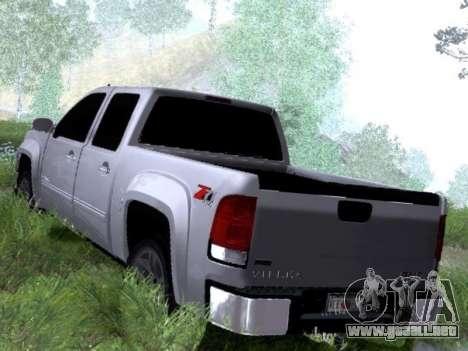 GMC Sierra SLT para la visión correcta GTA San Andreas