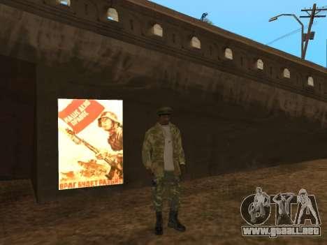MOD para el día de la victoria para GTA San Andreas tercera pantalla