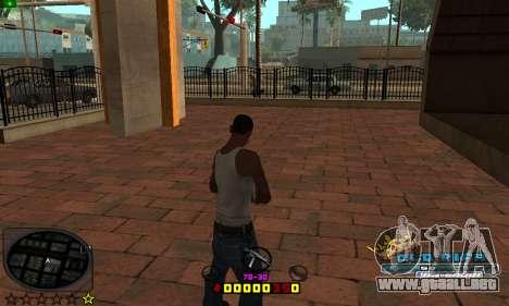 C-HUD Old-Rifa para GTA San Andreas segunda pantalla