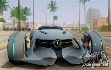 Mercedes-Benz SilverArrow para la visión correcta GTA San Andreas