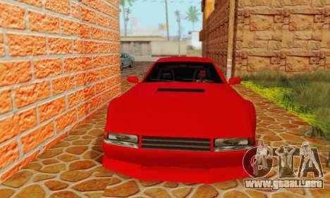 New Cheetah v1.0 para GTA San Andreas left