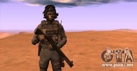 Teniente David Hesh Walker из De Call of Duty: G para GTA San Andreas