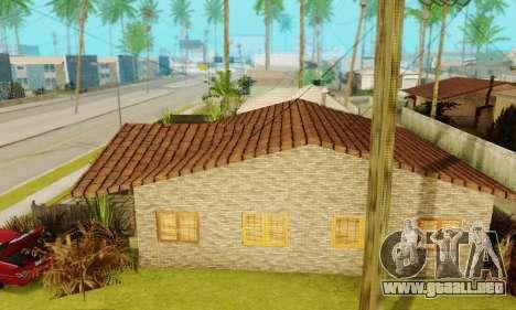Nuevas texturas de la casa de Denis para GTA San Andreas tercera pantalla