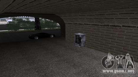 Nuevas texturas de la Estación de tren en Las Ve para GTA San Andreas segunda pantalla