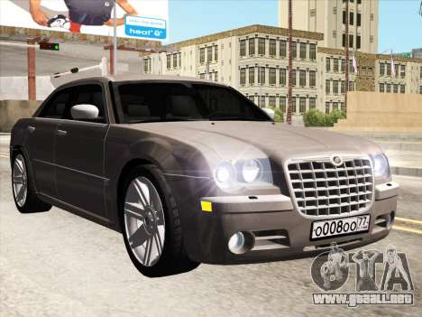 Chrysler 300C 2009 para GTA San Andreas left