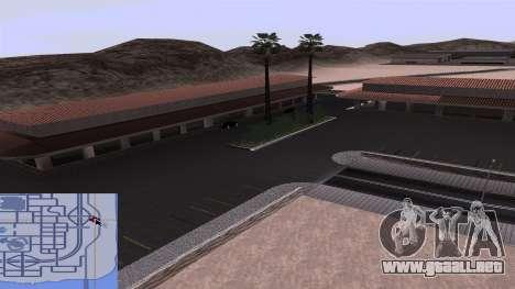 Nuevas texturas de la Estación de tren en Las Ve para GTA San Andreas sexta pantalla