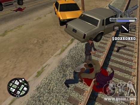 C-HUD Deagle para GTA San Andreas sexta pantalla