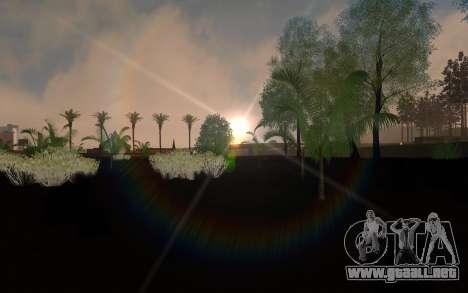 ENBSeries por el AVATAR 4.0 Final para los débil para GTA San Andreas segunda pantalla